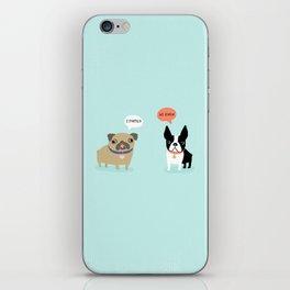 Dog Fart iPhone Skin