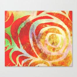 Sum' Rose Canvas Print