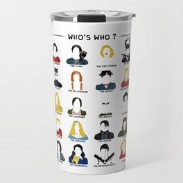 Who's who ? Travel Mug