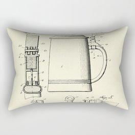 Beer Stein-1914 Rectangular Pillow