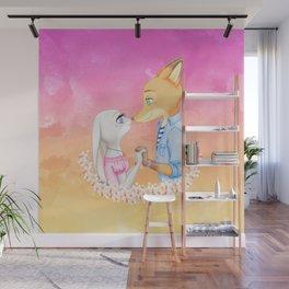 Judy X Nick Wall Mural
