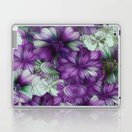 Violets and Greens Laptop & iPad Skin