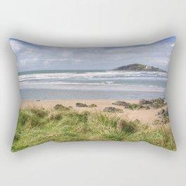 Bantham and Burgh Island Rectangular Pillow