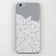 Abstract Mountain Grey iPhone & iPod Skin