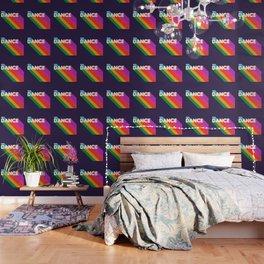 RAINBOW DANCE TYPOGRAPHY Wallpaper