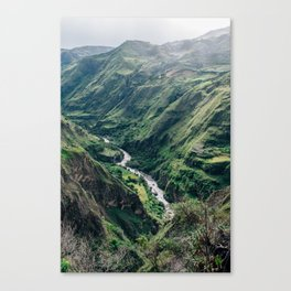 Drop Off (Colombia) Canvas Print