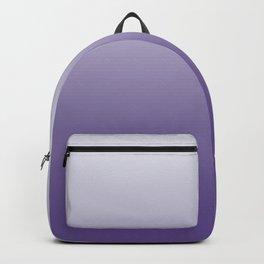 Ombré Ultra Violet Gradient Motif Backpack