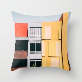 Los Angeles Architecture Throw Pillow