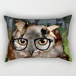 Owl's Good in the Woods Rectangular Pillow