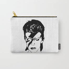 Portrait of Ziggy Bowie The Starman Carry-All Pouch