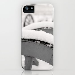 Snowy Canon iPhone Case