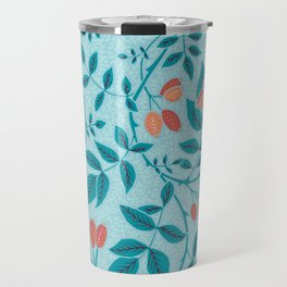 blue rose hips Travel Mug
