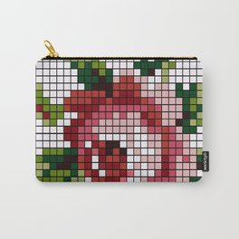 Shabby Chic Rose Carry-All Pouch
