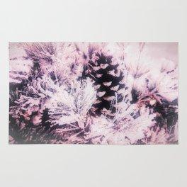 White Pine, Christmas Snowfall Rug