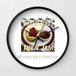 Cream First Wall Clock