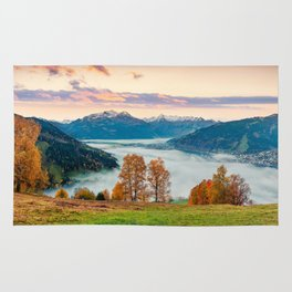 Beautiful Nature Concept Background Rug