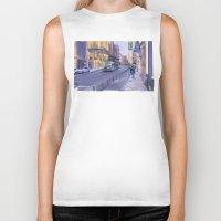 urban Biker Tanks featuring Urban by pabpaint