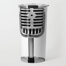 Vintage Microphone Travel Mug