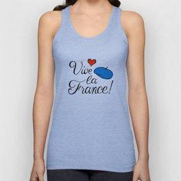 Vive la France! Unisex Tank Top