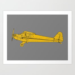 Piper Cub Art Print