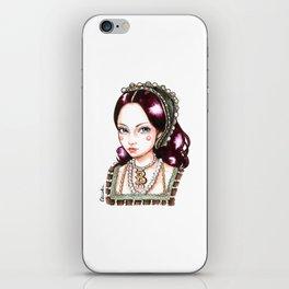Anne Boleyn iPhone Skin