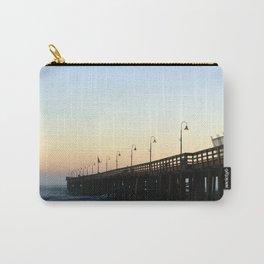 Ventura Ocean Wave Storm Pier Carry-All Pouch