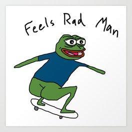 Pepe SB (rough) Art Print