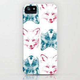 Foxes are Flipping iPhone Case
