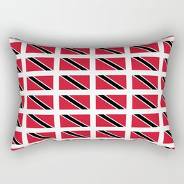 flag of trinidad and Tobago -Trinidad,Tobago,Trinidadian,Tobagonian,Trini,Chaguanas. Rectangular Pillow