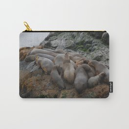 South American Fur Seals Carry-All Pouch