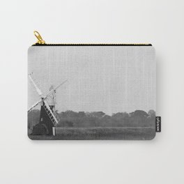 Windmill, Norfolk Broads, England Carry-All Pouch