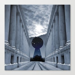 Keyhole to Infinity Canvas Print