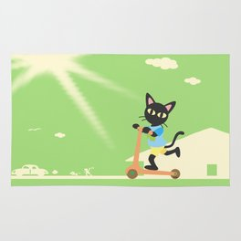 Kick scooter Rug
