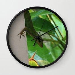 Gecko Wall Clock