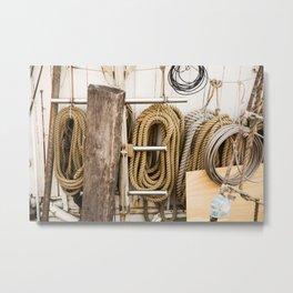 ropes, Copenhagen Metal Print