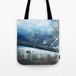 Ski Trails at Sugarbush Resort, Vermont Tote Bag