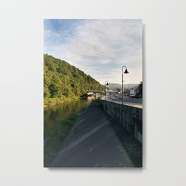 Morning in the valley. Metal Print