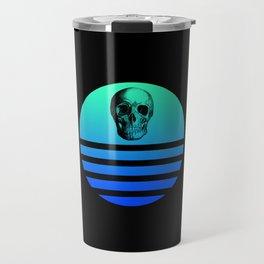 Retro Skull 4 Travel Mug