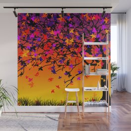 The Scent Of Halloween Wall Mural