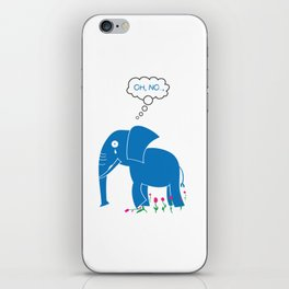 Sad Elephant iPhone Skin