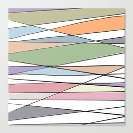 Intersecting Lines Canvas Print