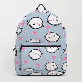 Cute narwhals. Backpack