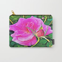 Pink Flower of Graceful Beauty Carry-All Pouch