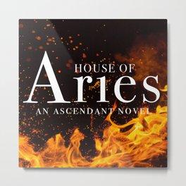 House of Aries Fire Metal Print
