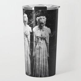 The Twin - Annie Montgomery - Holga Double Exposure  Travel Mug