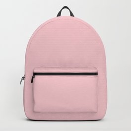 Solid Millennial Pink Pastel Color Trends 2017 Backpack