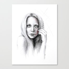Self-destruction: expose Canvas Print