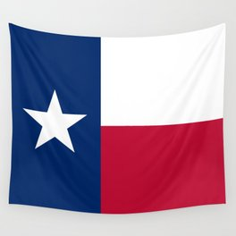 Texas State Flag, Authentic Version Wall Tapestry