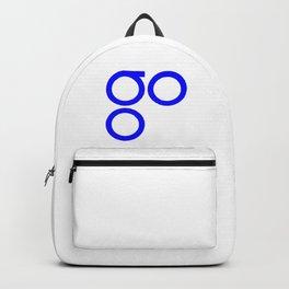 OmiseGo Go OMG Blue Logo Backpack