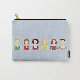 Kristen Wiig Character Print Carry-All Pouch